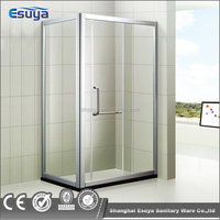 Hot sell frameless simple glass shower enclosure / cheap shower cabin