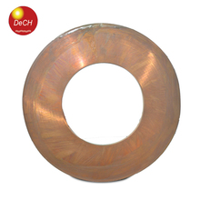 New goods best prices 0.25*300mm customized length coils / coil copper foil tape