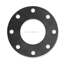 Black soft flexible flange neoprene intake rubber gasket