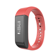 Gym fitness equipment heart rate blood pressure monitor fitness tracker I5 plus waterproof swimming smart bracelet
