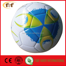 2016 world cup Colorful Machine stitched Promotional Soccer ball
