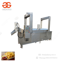 Factory Price Stainless Steel Full Automatic Continuous Potato Chips Frying Machine