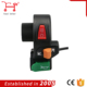 Custom waterproof motorcycle three dimmer switch