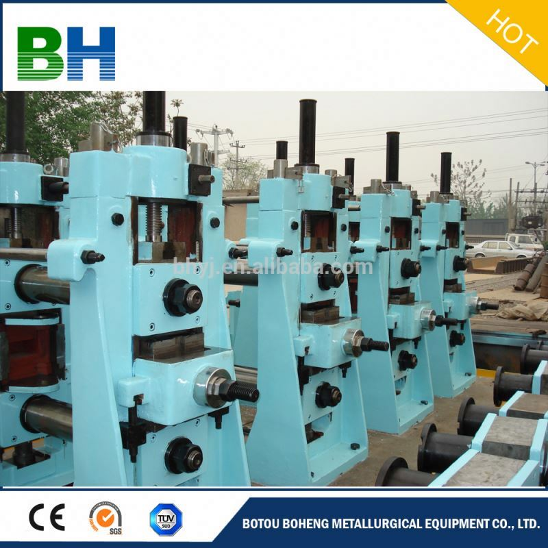 Boheng open cold bend steel pipe making machine welded pipe rolling machine