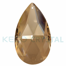 Advance material chandelier crystal parts, keco crystal is work on crystal chandelier parts