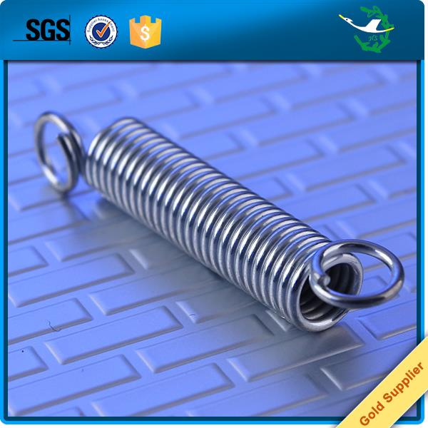 Custom stainless steel high elasticity tension spring