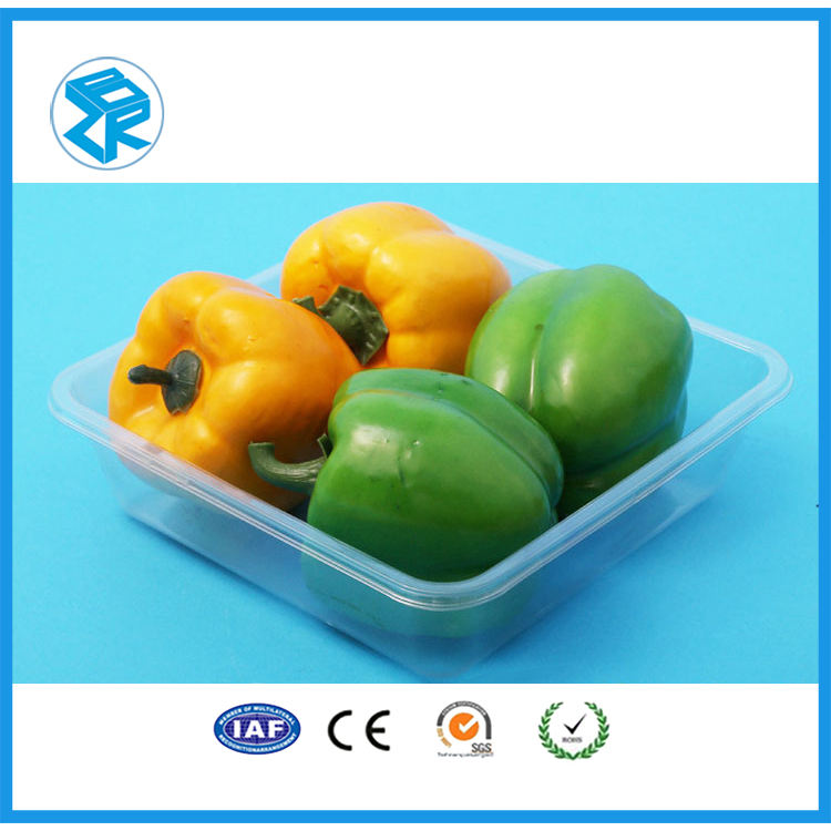 Most popular apple fruit cheap large plastic tray with holes