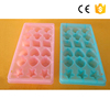 Newest Food Safe PP Plastic food grade plastic ice tray with lid diy ice cube tray
