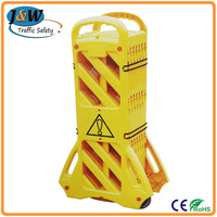 Wuhan Jackwin Durable Quality Road Plastic Folding Safety Barriers with CE