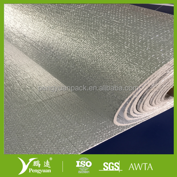 Fire resistant insulation epe xpe foam laminated with for Fire resistant insulation material