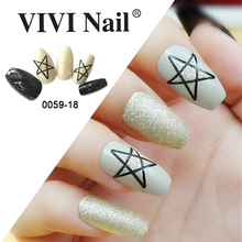 NEWAIR-2017 glamour coffin tips fake coffin nails full cover nail tips