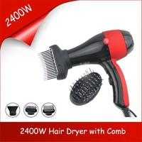 Professional Salon Standing Ozone Hair Dryer 2400W with Comb