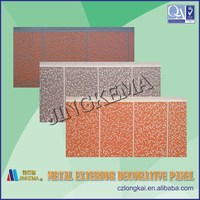 Exterior wall decorative siding panel Used for steel structure housing, sentry box, villas, building walls