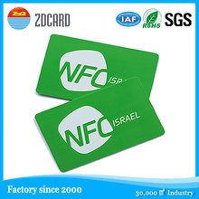 factory price NFC programmed data encoded smart card