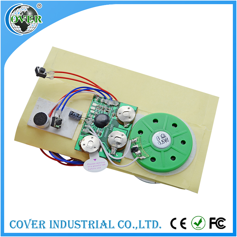 40mm mini recordable sound modules push button sound module for toy