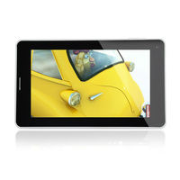 high level qualcomm MSM8225 dual core android tablet pc external sim card slot support 3g gsm gars