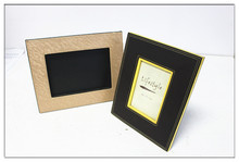 Custom PU/PVC leather photo frame with your logo, permotional gifts, personalized gifts