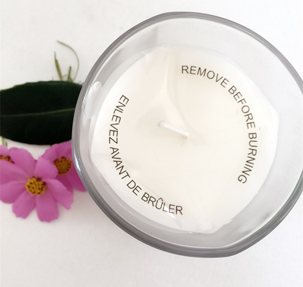 Unscented White Candle Votive Smokeless Glass Jar Candle