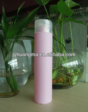 300ml PE plastic shampoo bottle with disc top cap