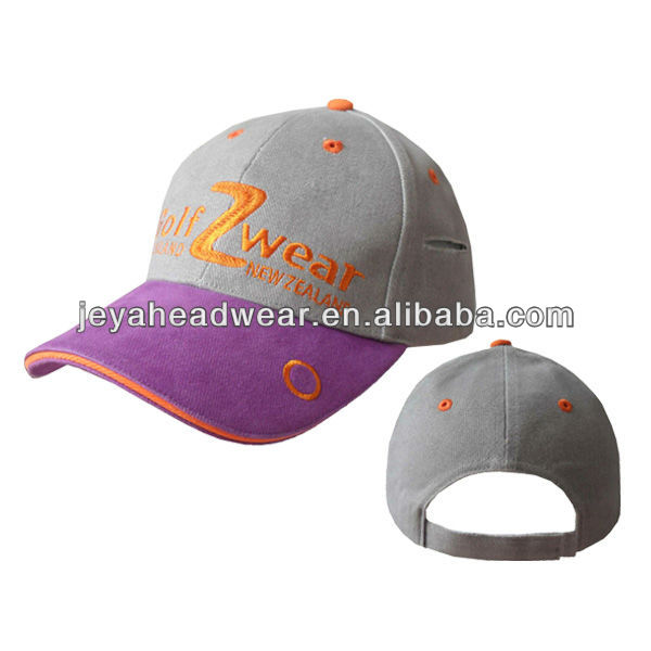 JEAY eco-friendly and hot sell high quality baseball cap with hair