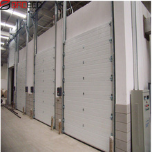 electric industrial/commercial double steel/ doors