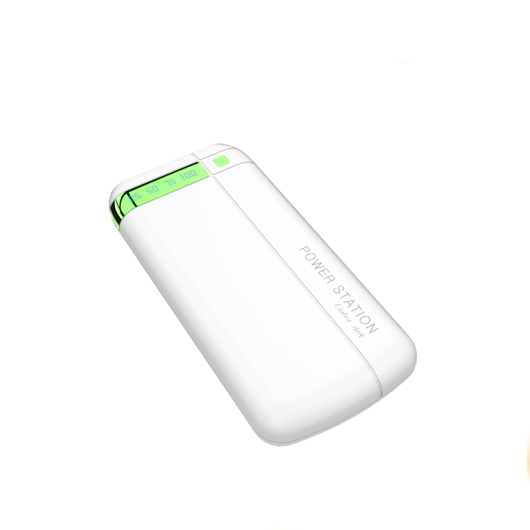 Most Popular plastic hot selling power bank LED light, 3 usb output mini for wholesale
