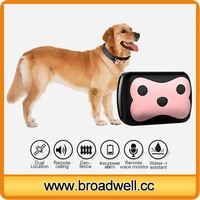 Long Standby Waterproof Anti-lost Pet GPS Tracker With Free Tracking APP