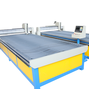 5mm metal plate CNC plasma and flame cutting machine price