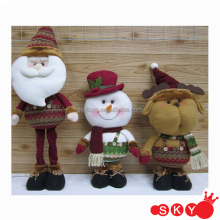 2014 Christmas Decoration Hanging Christmas Dolls Santa Claus