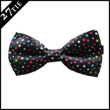 100% polyester printed children flashing bow tie