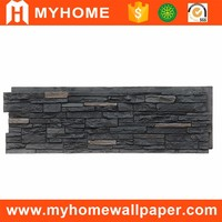 Waterproof brick design polyurethane faux stone decorative wall panel