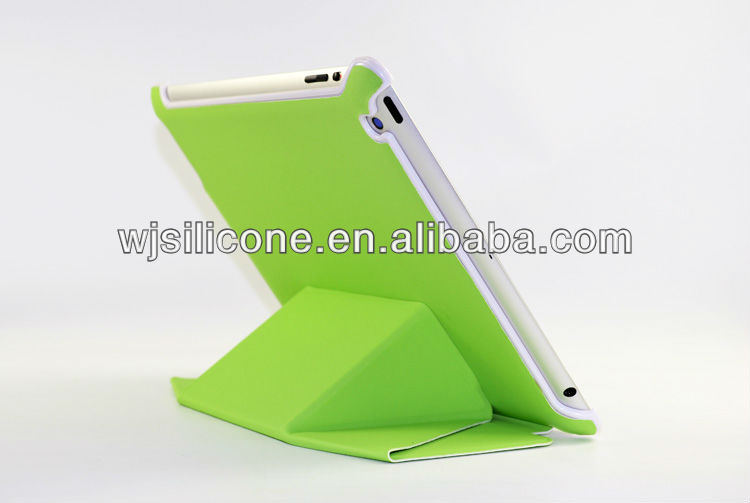 Standable laptop back cover for ipad 5