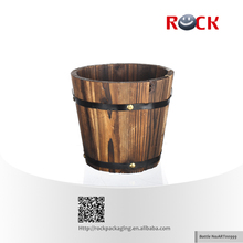 Art00999 wooden bucket for packing products