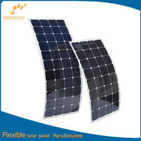 Custom-Made Semi Custom-Made Semi Flexible Solar Panel