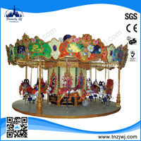 2014 wonderful electric Kiddie rides carousel whirligig