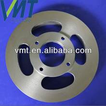 china supplier CNC machining round stainless steel spacer