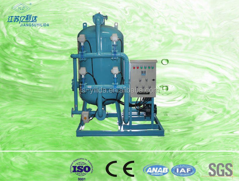 vegetables and fruit clarification automatic shallow sand filter,sand filter tank