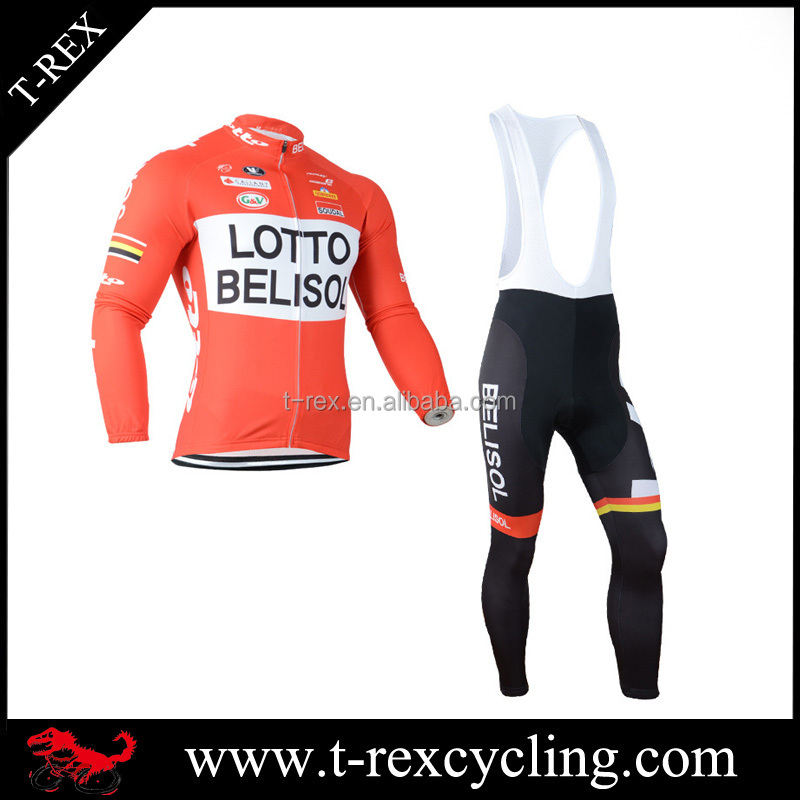 High quality Lycra cycling bib shorts and shirts custom design unisex bicycle jersey