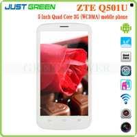 5 inch screen smartphone MT6582 Quad Core 1331MHz dual SIM single camera Wi-Fi/Bluetooth/GPS android smartphone