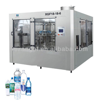 3-in-1 Bottle Filling Machine