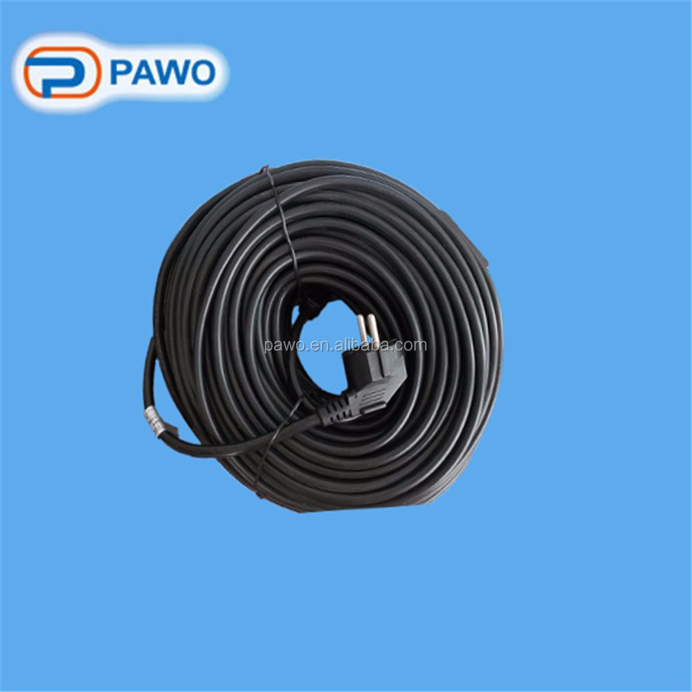 high quality wholesale pvc waterproof heat tape/roof&gutter de-icing cable