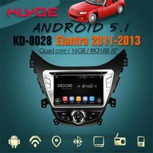 support DAB+ and WAZE map android 5.1.1 in dash car dvd for Elantra 2012