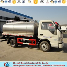 Best price new china food transport tank truck
