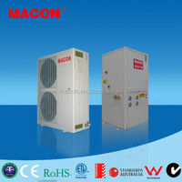 Split type air source two stage heating heat pump,high temperature heat pump