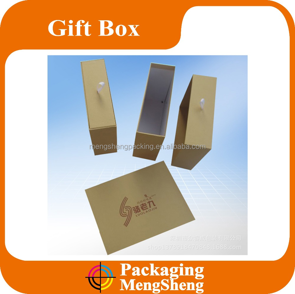 Eco Friendly Brown Kraft Paper drawer Gift Box/Jewelry Gift Boxe Collection/Retail Kraft Box Jewel Wedding Gift Boxes for tea