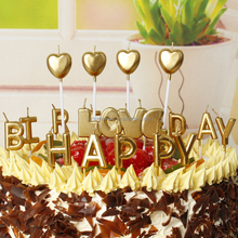 Happy Birthday/ Star/ Heart/ Love Shape Birthday candle Wedding Candle