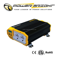 1500w DC 12V to AC 220V Car Power Inverter with USB Port and Remote Control