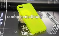 Slim Ultra Thin Frosted Matte TPU Silicon Cover Rubber Case Skin Sleeve Case Back Cover for iPhone 5 5s