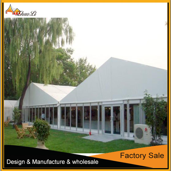 Luxury white wedding marquee white pvc marquee tent
