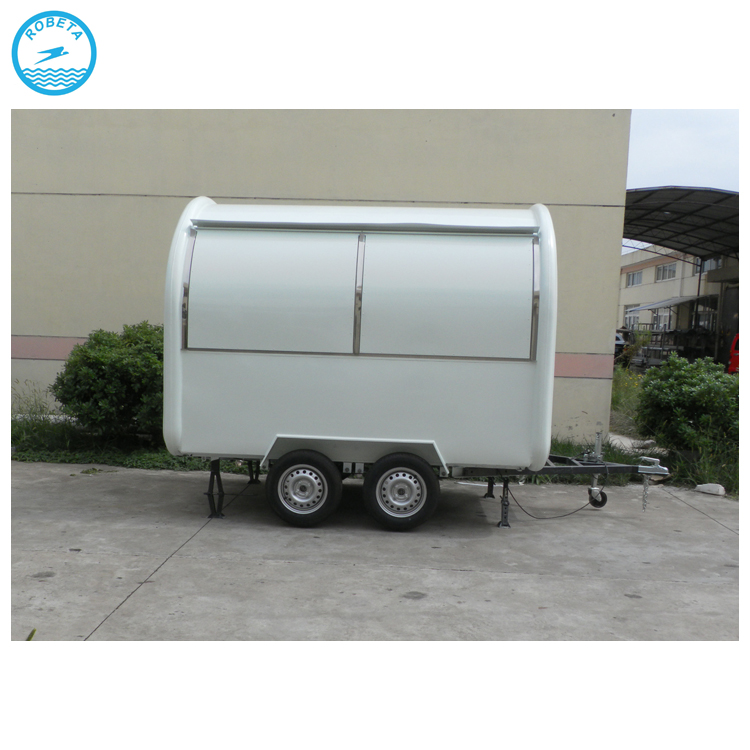 food cart trailer mobile pancake trailer car/camion food truck a vendre/food cart mobile